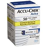 ACCU-CHEK Aviva Plus Mail Order Test Strips, 50-Count Box ACCU-CHEK Aviva Plus Test Strips are for testing glucose in whole blood. For use with ACCU-CHEK Aviva Plus ~ Roche
