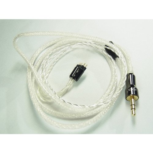 "Effect Audio Studio ""Pearl V2"" Palics White&Clear Westone Upgrade Replacement Cable For Ue Custom,4R, Um3Xrc, Um2Xrc"