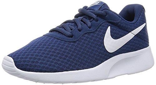 Nike Wmns nike tanjun - Scarpe da corsa, Bambine, colore Blu (navy/white), taglia 36