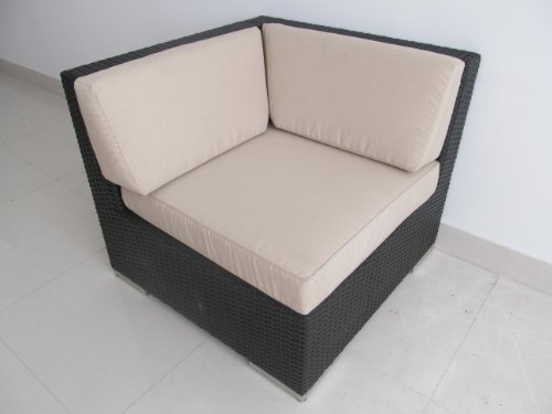 Genuine Ohana Outdoor Sofa Patio Wicker Furniture 9pc All