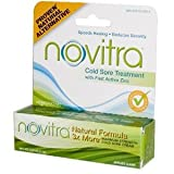 Novitra Homeopathic Cold Sore Cream, Maximum Strength , .25 oz (7.1 g)