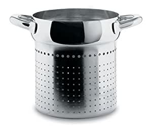 Alessi mami colander for pasta set stainless steel sg306 for Amazon alessi