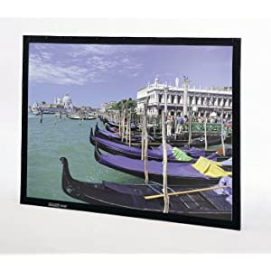 "Da-Lite 240"" Diagonal Video Format Home Theater Fixed Frame Screen with Dual Vision Fabric,Da-Lite Screen Company, Inc.,DL7629"