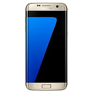 (SIMフリー) Samsung サムスン Galaxy S7 Edge Dual G935 (Dual デュアル SIM) (並行輸入品) (32GB, ゴールド)