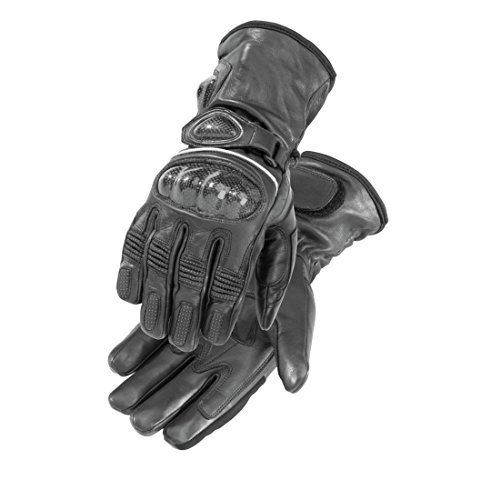 First Gear HEATED CARBON GLOVE BK XL