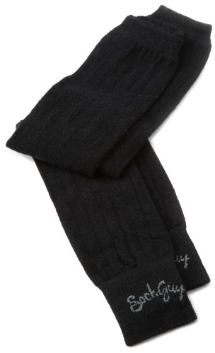 Buy Low Price SockGuy Men's Armwarmer Socks (AWBLK L)