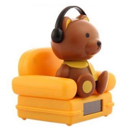 Buy Bobblehead doll solar doll music sofa exhaust pipe decoration