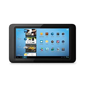 Coby Kyros 7-Inch Android 4.0 4 GB Internet Tablet 16:9 Capacitive Multi-Touch Widescreen - MID7047-4 (Black)