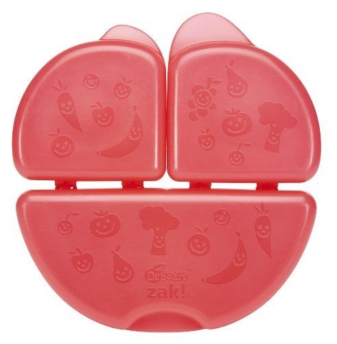 Dr. Sears Snack Container, Red, 12 Months (Discontinued by Manufacturer)