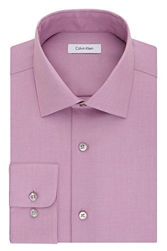 Calvin-Klein-Mens-Regular-Fit-Non-Iron-Herringbone-Spread-Collar-Dress-Shirt
