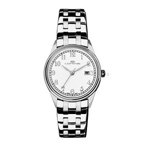 Reloj LORENZ Mujer 027159AA al cuarzo (batería) acero quandrante blanco correa acero