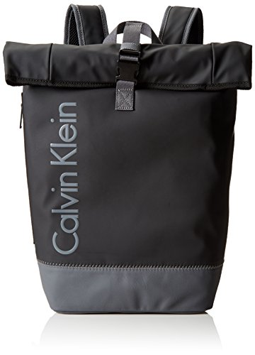 Calvin Klein JeansPLAY BACKPACK - Borse a Tracolla Uomo , Nero (Schwarz (BLACK 001 001)), 31x63x17 cm (B x H x T)
