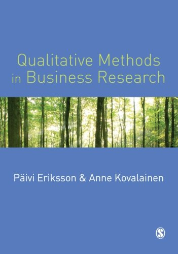 Qualitative Methods in Business Research (Introducing...