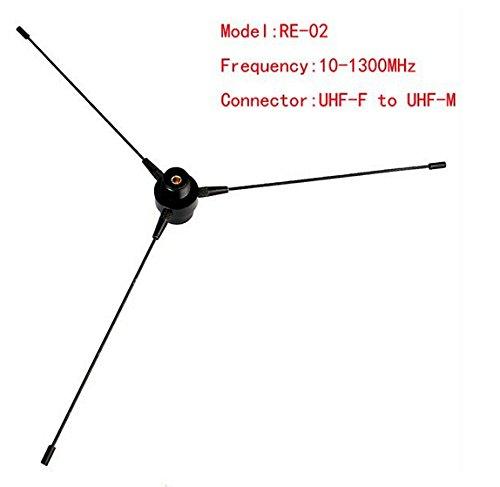 10-1300MHz UHF SMA-F Ground Antenna for Car Mobile Radio Motorola ICOM Kenwood