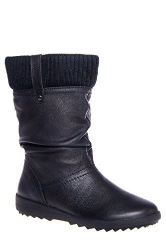 Vienna 5 Mid-Calf Low Heel Boot