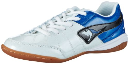KangaROOS Unisex - Child Divided B Running Shoes White Weià (white/royal blue/black) Size: 38/5 UK