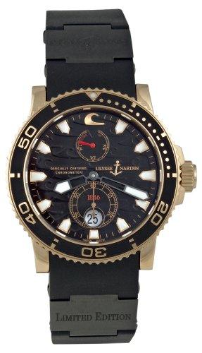 Ulysse Nardin Men's 266-37LE/3B Maxi Marine Diver Black Surf Watch