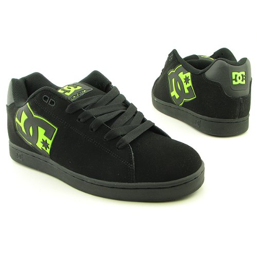 DC Men's Rob Dyrdek Skate Shoe,Black/Soft Lime,6.5 M