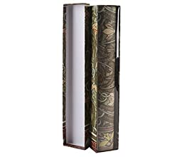 G2PLUS® Garden Style Vintage Lily Scented Floral Pattern Fragrant Drawer Liners Closet Drawer Papers Including Six Sheets of Paper