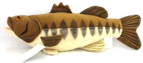 """17"""" Lunker The Largemouth Bass Plush Stuffed Animal Walltoy Wall Mount front-531868"""