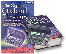 Comprar Seiko Oxford Thesaurus - Diccionario electrónico, azul
