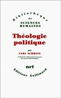 Th�ologie politique par Carl Schmitt