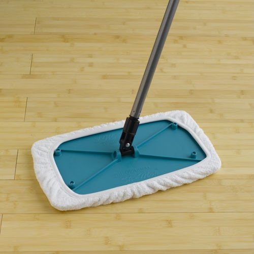 Sh Mop (Wet And Dry Floor Cleaning) Starter Kit By Comsentech (2 Covers And Telescoping Handle)
