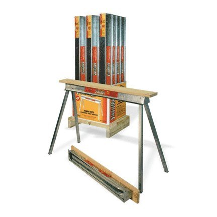 Fulton Corporation Qp4230-12 30-Inch Heavy Duty Galvanized Sawhorse