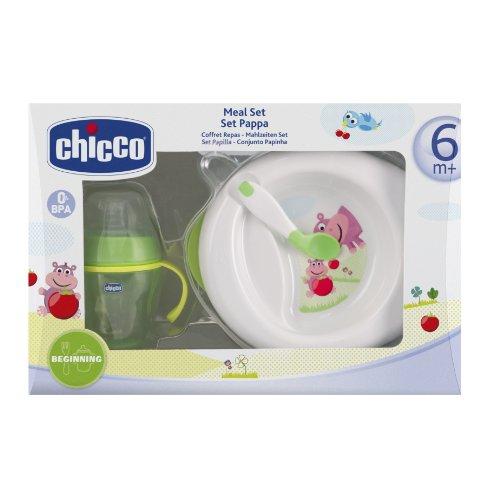 Chicco, Set da regalo per la pappa dle bambino, 6 mesi+, Multicolore (Mehrfahrbig)