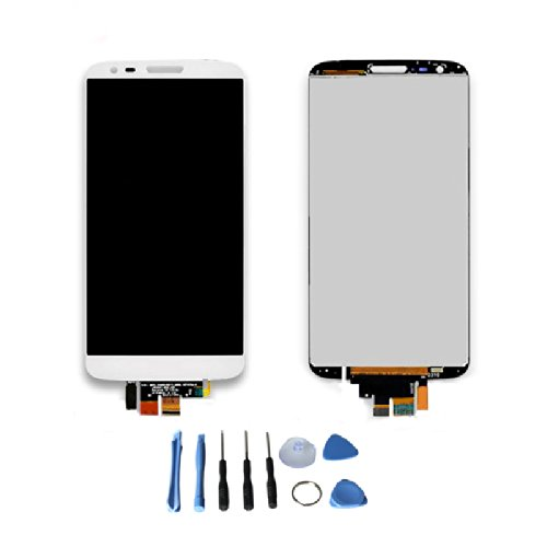 Lcd Display Touch Screen Digitizer Assembly For Lg G2 Mini D620 D618 D621 D625 With Free Tools (White)