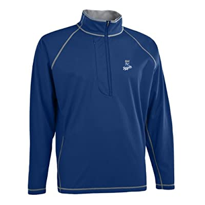MLB Men's Kansas City Royals Shadow 1/2 Zip Pullover