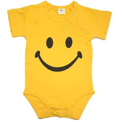 《SMILE》ベイビーロンパース☆ベビー/赤ちゃん服通販☆【70cm】