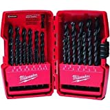 Milwaukee 48-89-2802 29 Piece Thunderbolt Black Oxide Drill Bit Set