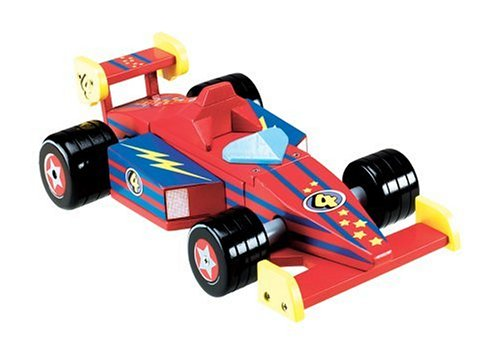 Melissa & Doug Mighty Builders Race Car