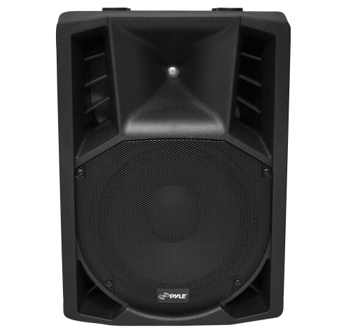 Pylepro Pphp128Ai 12-Inch 1200-Watt Powered 2-Way Full Range Pa Speaker With Ipod Dock/Usb/Sd, Remote Control, Microphone