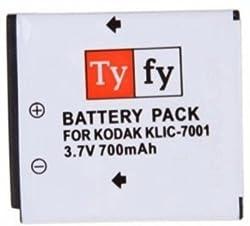 Tyfy KLIC-7001 (Kodak)(700 mah) Rechargeable Li-ion Battery