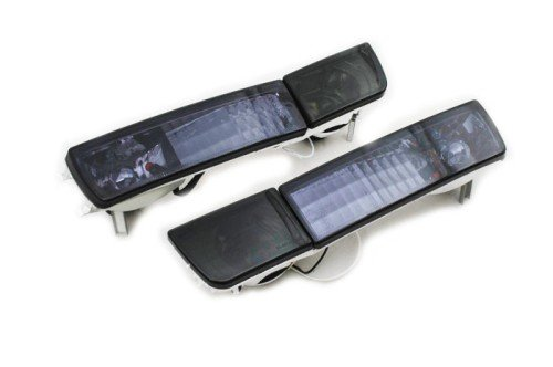 Smoke Crystal Style Euro Bumper Fog & Turn Signal Lights For Golf MK3 (Mk3 Fog Lights compare prices)