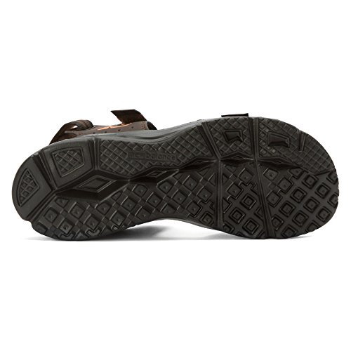 New Balance Men's Rev Plush2O Rafter Sandal, Brown, 10 D US 1