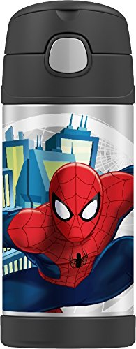 Thermos Funtainer 12 Ounce Bottle, Spiderman (Spider Bottle compare prices)