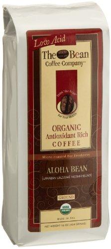 The Bean Coffee Company Aloha Bean Coffee (Hawaiian Hazelnut), Organic Ground, 12 Oz