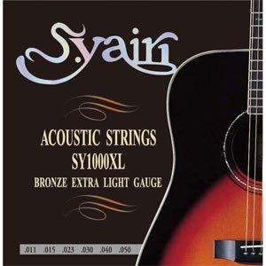 S.Yairi(ヤイリ) アコースティックギター弦extra light gauge(0.11~0.50) SY-1000XL/エクストラライト