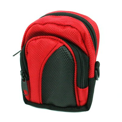 Camera/Small Electronics Case- Red for Casio Exilim