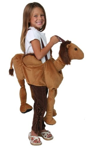 Kids Plush Ride-on Nativity Costume Camel