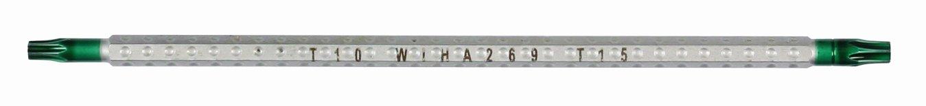 Wiha 26979 System 4 Drive-Loc Torx T5 x T6 Interchangeable Blade биты durabit 7015sb t40x25 wiha 33864