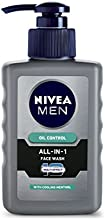 Nivea Men Oil Control All In One Face Wash Pump, 65ml