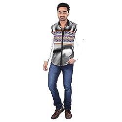 Pierrot's Cotton Casual Shirt For Men-XL