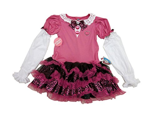 Girl's Pink Monster High Costume