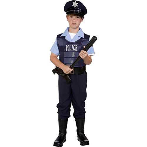 Law Enforcer Police Kids Costume