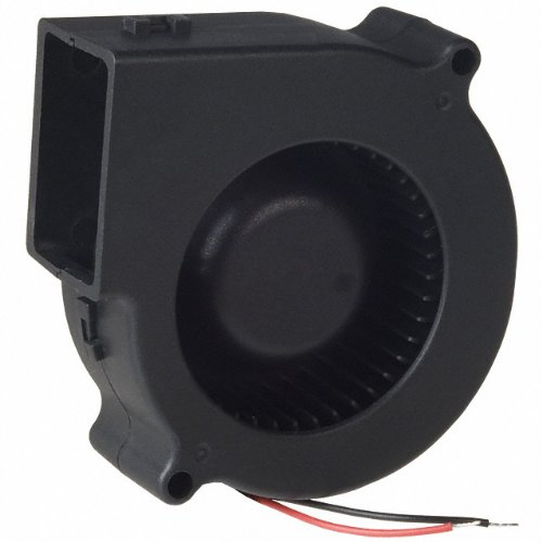 12V DC Brushless Blower Cooling Fan Fugetek, HT-07530D12, 75x75x30mm, 2pin, Dual Ball Bearing, Computer Fan, Multi Use, Black, US Support (Dc Fan 12v compare prices)