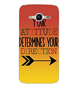 SAMSUNG GALAXY J2 2016 ATTITUDE Back Cover by PRINTSWAG